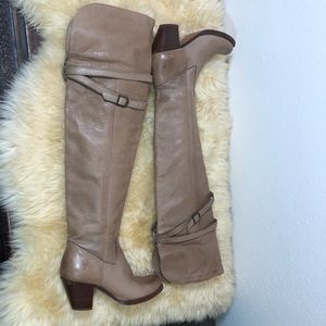 Frye Sarah Over the Knee Leather Boots